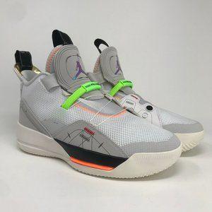 Nike Air Jordan XXXIII GS AQ9244-004 Vast Grey